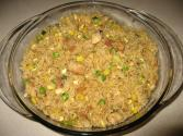 Chicken Fried Rice With Mushrooms